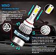 Светодиодные LED лампы в фары автомобиля H11, Светодиодная лед лампа COB 6000K 8-48V, LED лампы головного свет, фото 4