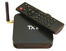 Медіа приставка TX-6 2 / 16G Smart TV Box (Android 9.0, ОЗУ 2 Гб, 16Гб вбудованої пам'яті, 4-х ядерний