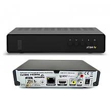 Тюнер extrabox TV strong7601 для платного спутникового ТВ