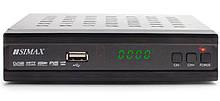 Ресивер (тюнер) IPTV DVB-T2 SIMAX Metal Blue KL1801