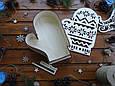 "Подарочная коробка для конфет из дерева ""Варешка"" | Новогодний декор, фото 2"