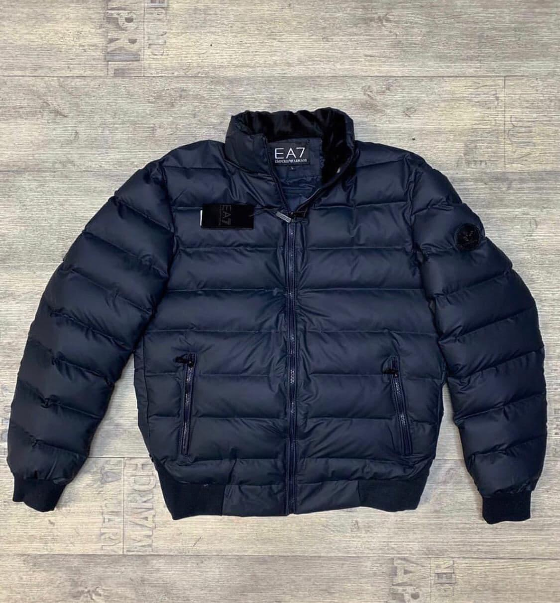 Мужская куртка Armani EA7 P0517 синяя