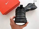 Nike Air Monarch IV (черные) cas, фото 5