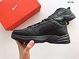 Nike Air Monarch IV (черные) cas, фото 2