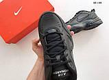 Nike Air Monarch IV (черные) cas, фото 3