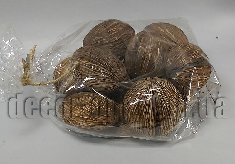Сушеная скорлупа кокоса 7-9см/≈13-14шт LB11103
