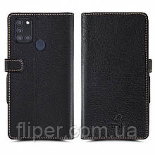 Чехол книжка Stenk Wallet для Samsung Galaxy A21s Чёрный