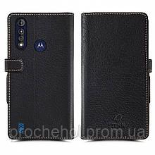 Чехол книжка Stenk Wallet для Motorola Moto G8 Power Lite Чёрный