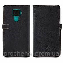Чехол книжка Stenk Wallet для Huawei Nova 5i Pro Чёрный
