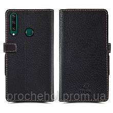 Чехол книжка Stenk Wallet для Huawei Y6P Чёрный