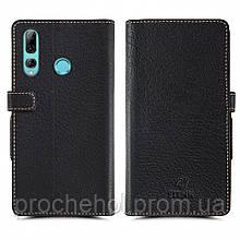 Чехол книжка Stenk Wallet для Huawei Enjoy 9S Чёрный