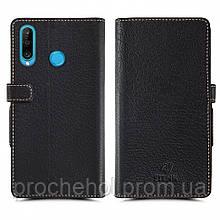 Чехол книжка Stenk Wallet для Huawei Honor 20 Lite Чёрный