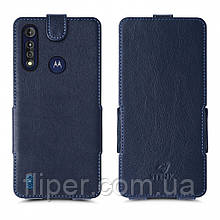 Чехол флип Stenk Prime для Motorola Moto G8 Power Lite Синий
