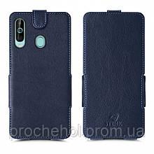 Чехол флип Stenk Prime для Samsung Galaxy A60 Синий