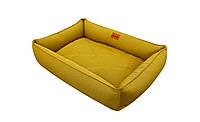 Лежак для собак Harley and Cho Sofa Mustard 3100643, 120*80 см