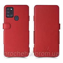 Чехол книжка Stenk Prime для Samsung Galaxy A21s Красный