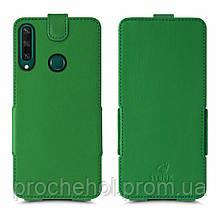 Чехол флип Stenk Prime для Huawei Y6P Зелёный