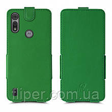 Чехол флип Stenk Prime для Motorola Moto E6s Зелёный