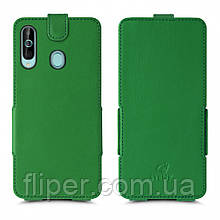 Чехол флип Stenk Prime для Samsung Galaxy A60 Зелёный