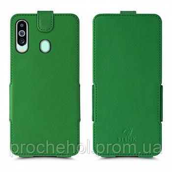 Чехол флип Stenk Prime для Samsung Galaxy M40 Зелёный