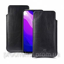 Футляр Stenk Elegance для Xiaomi Mi 10 Lite Чёрный