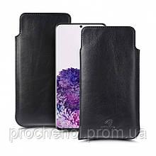 Футляр Stenk Elegance для Samsung Galaxy S20 Plus Чёрный