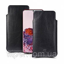 Футляр Stenk Elegance для Samsung Galaxy S20 Чёрный