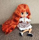 Шарнирная кукла Блайз Blyth TBL ACY пышные огненно рыжие волосы + 10 пар кистей + одежда и обувь в подарок, фото 2