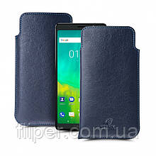 Футляр Stenk Elegance для BlackBerry Evolve Синий