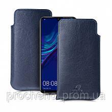 Футляр Stenk Elegance для Huawei Enjoy 9S Синий