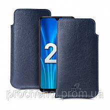 Футляр Stenk Elegance для Huawei Honor 20 Lite Синий