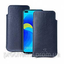 Футляр Stenk Elegance для Huawei Nova 6 Синий