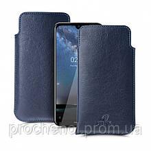 Футляр Stenk Elegance для Nokia 2.2 Синий