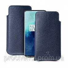 Футляр Stenk Elegance для OnePlus 7T Pro Синий
