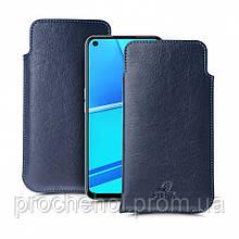 Футляр Stenk Elegance для OPPO A52 Синий