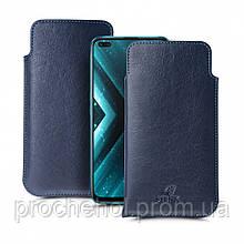Футляр Stenk Elegance для Realme X3 Синий