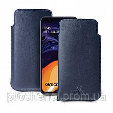 Футляр Stenk Elegance для Samsung Galaxy A60 Синий