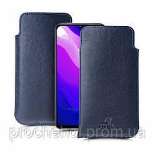 Футляр Stenk Elegance для Xiaomi Mi 10 Lite Синий
