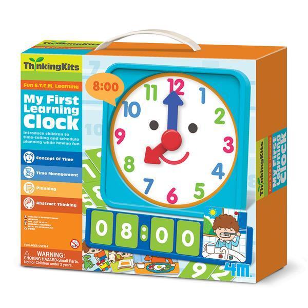Обучающий набор 4M Мои первые часы (00-04689)