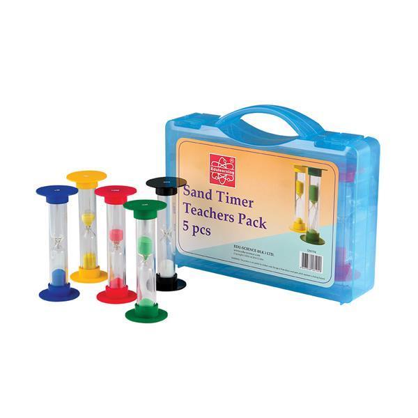 Обучающий набор Edu-Toys Песочные часы для учителя, 5 шт. (GM194)