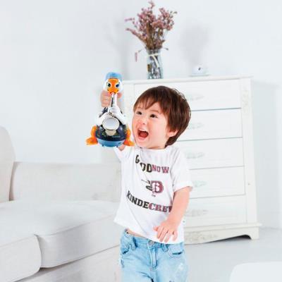 Игрушка музыкальная Hola Toys Гусь-саксофонист, синий (6111-blue)