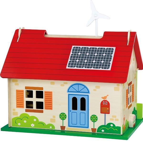 Деревянный игровой набор Viga Toys Кукольный домик (50349)