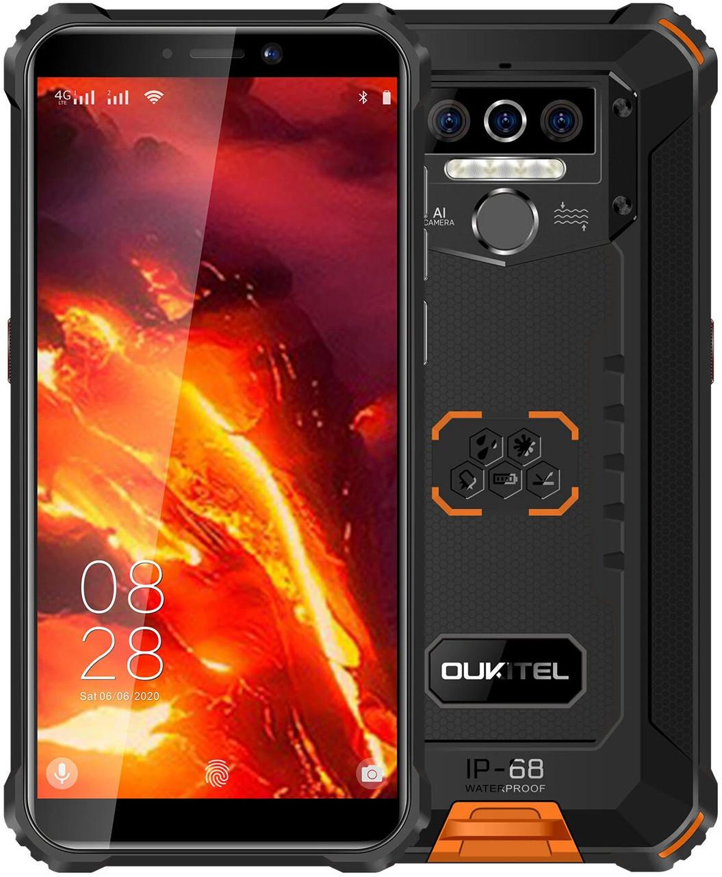 Oukitel WP5   Оранжевый   4/32 Гб   4G/LTE   Гарантия