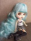 Шарнірна лялька Айсі (Блайз), Незабудка блакитний колір волосся+ 10 пар рук, одяг і взуття в подарунок, фото 10