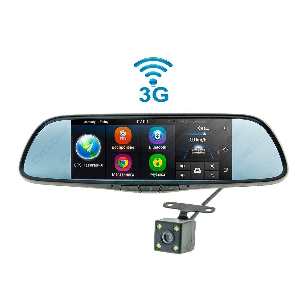 Зеркало с видеорегистратором Cyclone MR-250 AND 3G