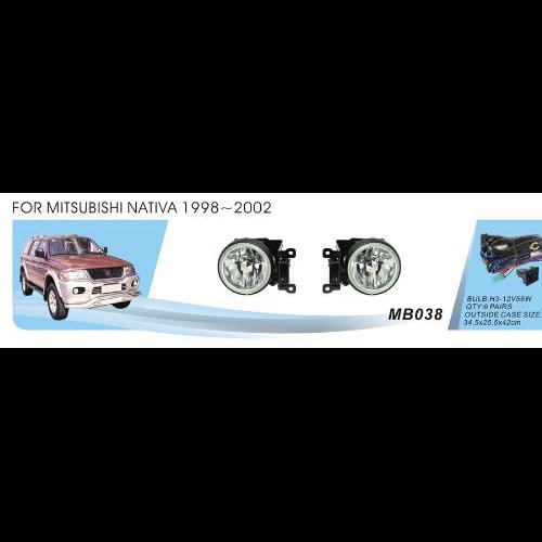 Протитуманні фари Vitol MB-038W Mitsubishi Pajero Sport1998-2002 ел.проводка