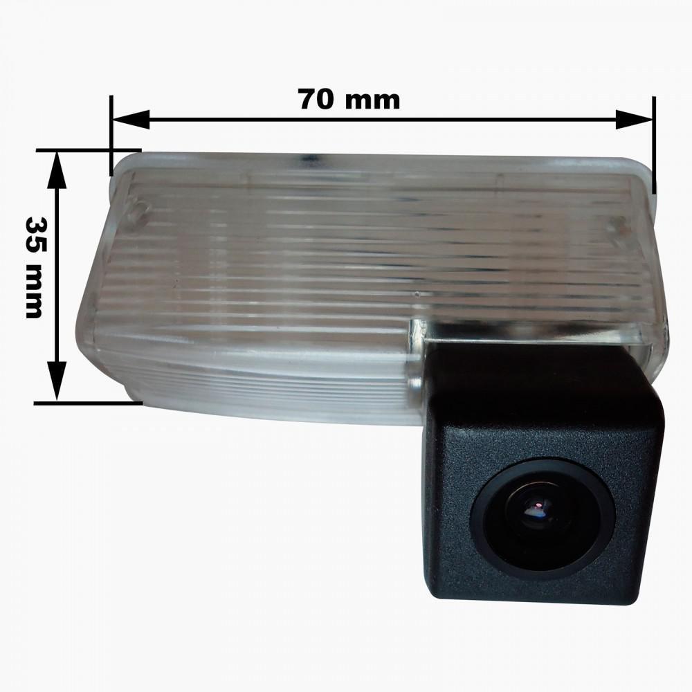 Камера заднего вида Prime-X G-002 Toyota