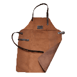 Фартук кожаный фирменный для мангала Holla Grill, фото 3