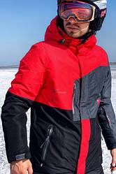 Горнолыжная куртка мужская Freever GF 11722 красная