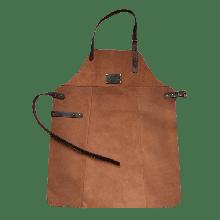 Шкіряний фартух фірмовий для мангалу Holla Grill